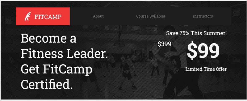 Leadpages Sales Template Example
