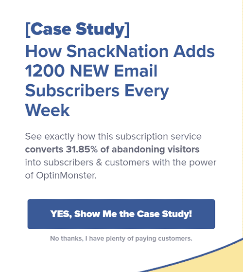 Opt In Monster funnel case study