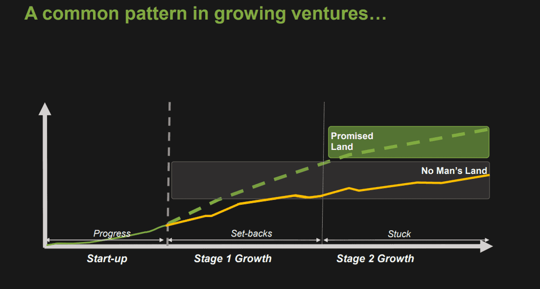 Pattern in venture growth