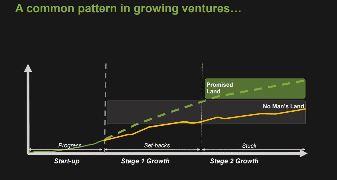 Pattern in venture growth